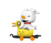 Zero in Duck Train Cart из мультика Nightmare Before Christmas
