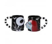 Jack and Sally Ceramic Mug 2-Pack из мультика Nightmare Before Christmas