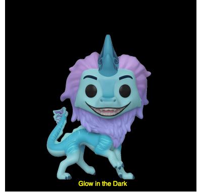 Водяной Дракон Сису светящийся (Sisu as Dragon GitD (Эксклюзив Walmart)) из мультфильма Райя и последний дракон