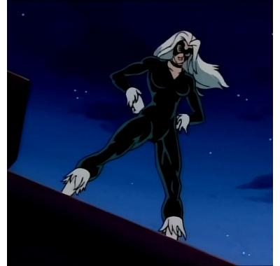 Чёрная кошка (Black Cat (Эксклюзив)) из мультсериала Человек-паук