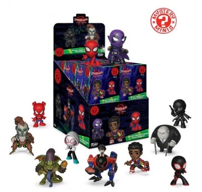 Коробочка мистери минис (Box mystery minis) из мультика Человек-паук: Через вселенные