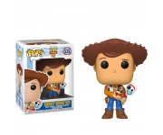 Sheriff Woody holding Forky (Эксклюзив Hot Topic) из мультика Toy Story 4