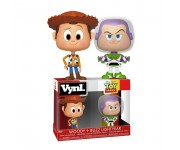 Woody and Buzz Lightyear Vynl. из мультика Toy Story