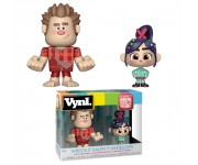 Ralph and Vanellope Vynl. из мультика Ralph Breaks the Internet: Wreck-It Ralph 2