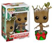 Dancing Groot Holiday Metallic with Snow (Эксклюзив) из фильма Guardians of the Galaxy