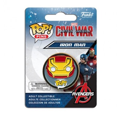 Iron Man Pin из киноленты Captain America: Civil War