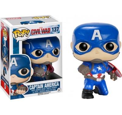 Капитан Америка (Captain America Kneeling Pose (Эксклюзив) из фильма Первый мститель: Противостояние