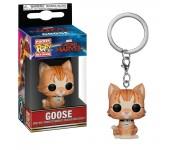 Goose the Cat Keychain из фильма Captain Marvel