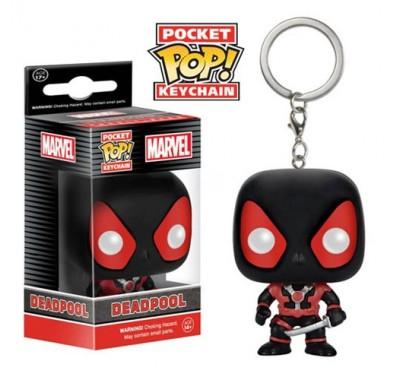 Deadpool Black Suit key chain из вселенной Marvel