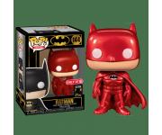 Batman Red Metallic со стикером (Эксклюзив Target) из комиксов DC Comics