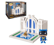 Batman with Hall of Justice Town (PREORDER ZS) из комиксов DC Comics