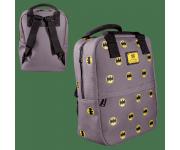 Batman Logo Canvas Embriodered Backpack (PREORDER ZS) из комиксов DC Comics