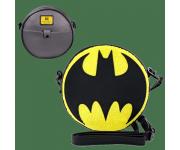 Batman Logo Chenille Canteen Crossbody Bag (PREORDER ZS) из комиксов DC Comics