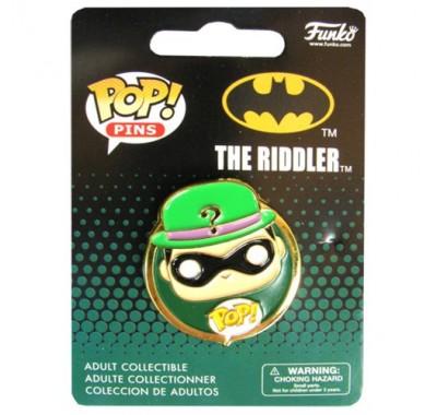 Загадочник значок (Riddler Pin) из комиксов ДС Комикс
