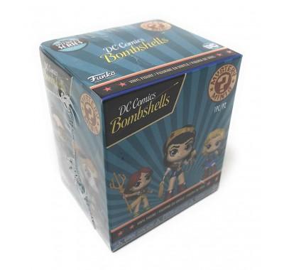 DC Comics: Красотки ЗАКРЫТАЯ коробочка мистери минис (DC Bombshells blind box (Эксклюзив Speciality Series) mystery minis) из комиксов DC Comics: Красотки серия 1