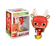 Flash as Rudolph из комиксов DC Comics Holiday