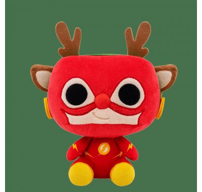 Флэш Олень Рудольф плюш (The Flash as Rudolph Plush) из комиксов ДС Комикс Праздники