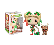 Harley Quinn with Bruce из комиксов DC Comics Holiday