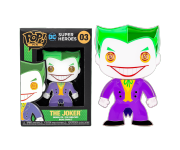 Joker 4-inch Enamel Pin из комиксов DC Comics
