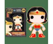 Wonder Woman 4-inch Enamel Pin из комиксов DC Comics
