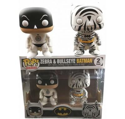 Bullseye & Zebra 2-pack (Эксклюзив) из вселенной DC Comics Funko POP