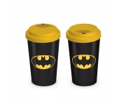 Batman Logo Travel Mug из комиксов DC Comics
