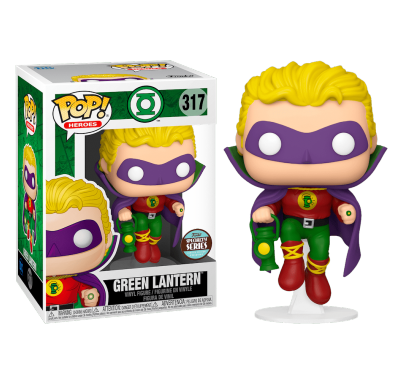 Алан Скотт Зеленый фонарь со стикером (Alan Scott as Green Lantern (Эксклюзив Specialty Series)) из комиксов ДС Комикс