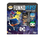 Batman, Batgirl, Harley Quinn and Joker Funkoverse Strategy Game 4-Pack из комиксов DC Comics