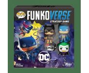 Batman, Batgirl, Harley Quinn and Joker Funkoverse Strategy Game 4-Pack из комиксов DC Comics
