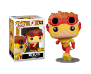 Kid Flash со стикером Hot Topic (Эксклюзив Hot Topic) из комиксов DC Comics