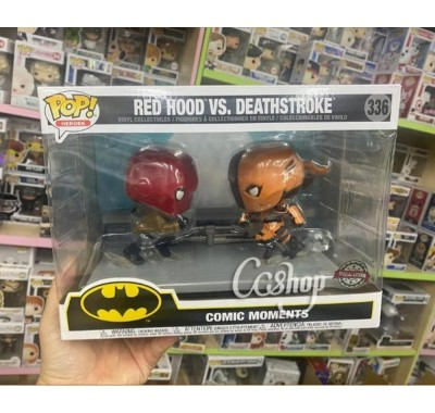Красный колпак против Дефстроука (Red Hood vs Deathstroke Comic Moment (Эксклюзив)) из комиксов ДС Комикс
