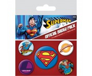Superman Badge Pack из комиксов DC Comics