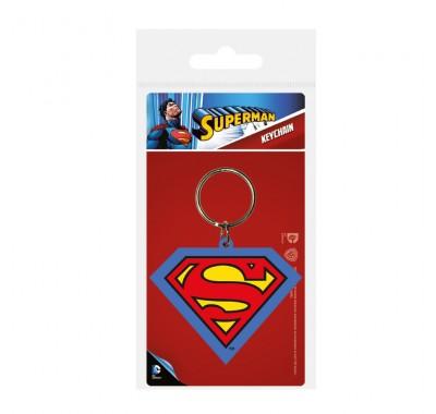 Брелок Супермен (Superman Shield Rubber Keychain) из комиксов ДС Комикс