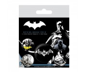 Batman Dark Badge Pack из комиксов DC Comics
