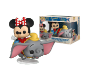 Dumbo The Flying Eyephant Attraction and Minnie Mouse Rides из серии Disneyland 65th Anniversary 92