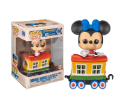 Minnie Mouse on Casey Jr. Circus Train Attraction Trains (Эксклюзив Amazon) из серии Disneyland 65th Anniversary 06
