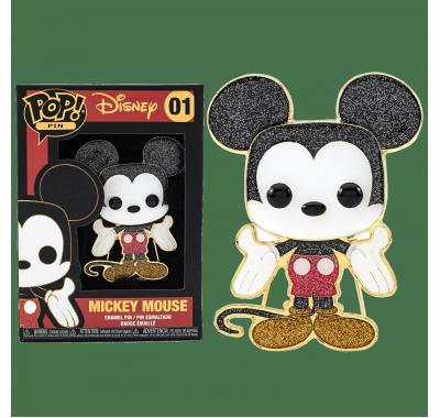 Микки Маус значок 10 см (Mickey 4-inch Enamel Pin) из мультфильмов Дисней