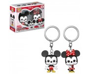 Mickey and Minnie keychain 2-pack из мультиков Disney