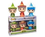 Flora, Fauna and Merryweather 3-Pack (Эксклюзив ECCC 2020) из мультика Sleeping Beauty