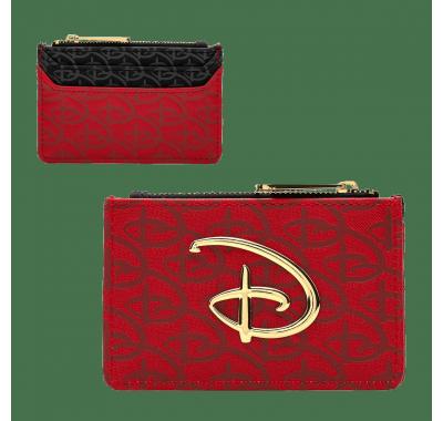 Картхолдер Дисней (Disney Logo Debossed Cardholder) из мультфильма Дисней