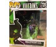 Maleficent as Dragon with Flames Metallic GitD 6-inch (Эксклюзив BoxLunch) из серии Disney Villains