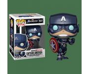 Captain America из игры Marvel's Avengers
