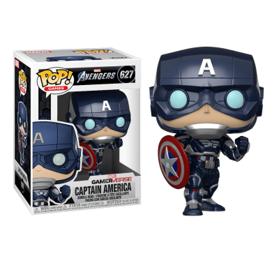 Капитан Америка (Captain America) из игры Мстители Марвел