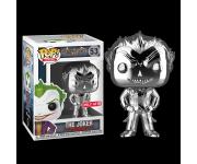 Joker Silver Chrome со стикером (Эксклюзив Target) из игры Batman: Arkham Asylum
