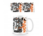 Crash Bandicoot Stencil Mug из игры Crash Bandicoot