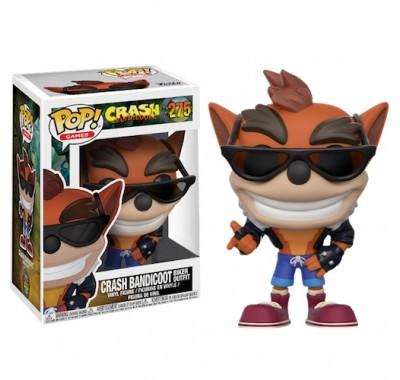 Крэш Бандикут байкер (Crash Bandicoot in Biker Outfit (Эксклюзив)) из игры Крэш Бандикут