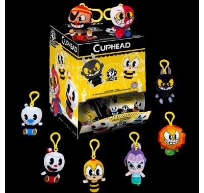 Капхед брелок плюш ЗАКРЫТЫЙ пакетик (Cuphead Blind Bag Keychain Plush) из игры Капхед