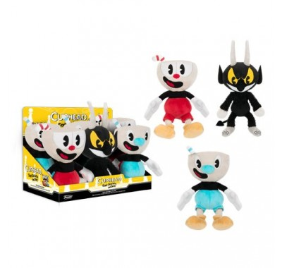 Капхед плюш (Cuphead Hero Plushies) из игры Капхед