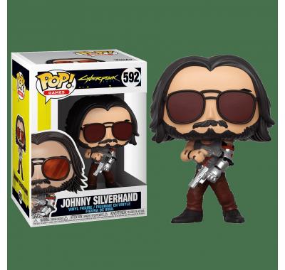 Джонни Сильверхенд с пистолетами (Johnny Silverhand with Guns) (preorder WALLKY) из игры Киберпанк 2077