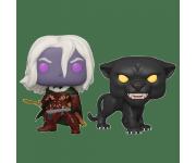 Drizzt Do'Urden and Guenhwyvar 2-Pack (Эксклюзив Gamestop) из игры Dungeons and Dragons